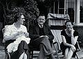 Sir Neil Hamilton Fairley and companions. Photograph, 1956. Wellcome V0026343.jpg
