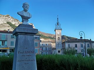 monument to Paul Arène