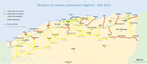 Transport In Algeria Revolvy - Largest country in africa