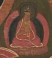 Small figure is labeled Wangchuk Dorje, located between these two Tulkus from the image of the Eighth Karmapa, Mikyo Dorje (1507-1554) and his teacher the First Sangye Nyenpa (cropped).jpg