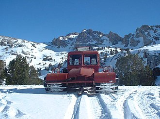 Snow Trac - Wide track Snow Master version of the Snow Trac used for deep powder snow conditions