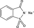 Sodium saccharin molecule.png