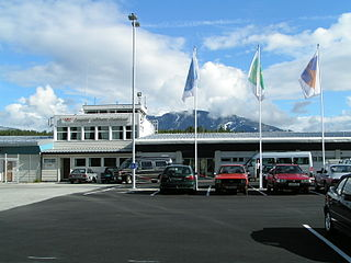 Sogndal Airport, Haukåsen airport in Sogndal Municipality, Norway