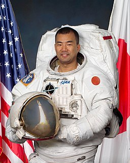 Soichi Noguchi Japanese aeronautical engineer and a JAXA astronaut