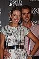 Sophie Falkiner with her husband Tony Thomas, February 2012-1.jpg
