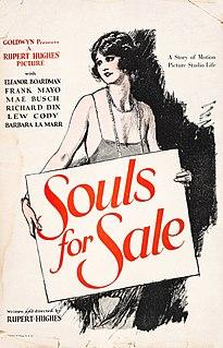 <i>Souls for Sale</i> 1923 film