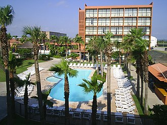 South Padre Island, Texas - Image: South Padre Island Holiday Inn