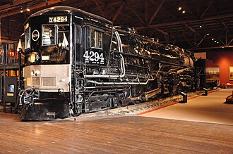 Cab forward - Southern Pacific 4294 at the California State Railroad Museum