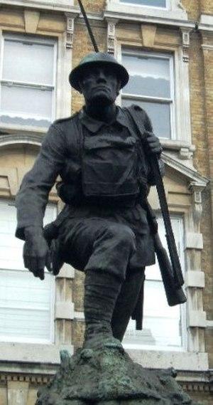 Philip Lindsey Clark - Image: Southwark War Memorial 1