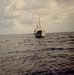 Soviet intelligence gathering trawler Gidrofon, a photo from aboard USS Lipan (3).jpg