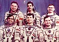 Soyuz T-11 primary and backup crew.jpg