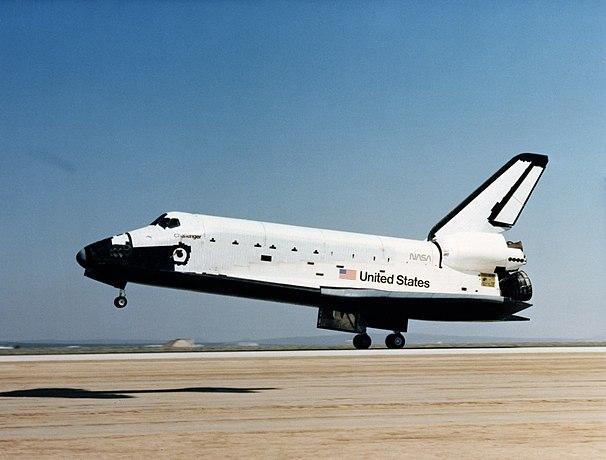 Challenger's First Landing