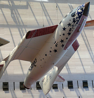 Space ShipOne im National Air and Space Museum