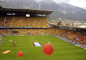 Tivoli-Neu - Spain vs Sweden, Euro 2008