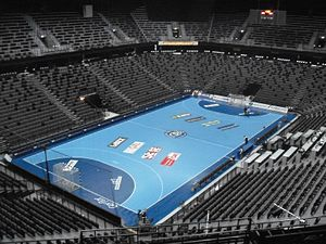 Spaladium Arena empty