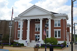 Spencer County Courthouse in Taylorsville.