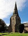 Spire of St Andrew's Church, Bebington 1.jpg