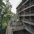 Spits van zijkapel, tijdens restauratie - Berkel-Enschot - 20358844 - RCE.jpg