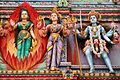 Sri Veeramakaliamman Temple - Hindu goddesses.jpg