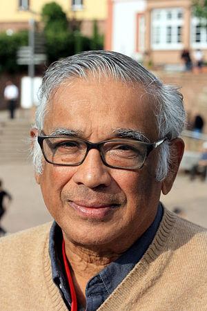 S. R. Srinivasa Varadhan - Srinivasa Varadhan at the 1st Heidelberg Laureate Forum in September 2013