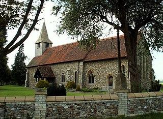 Birdbrook village in the United Kingdom