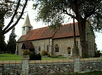 Birdbrook - Image: St. Augustine of Canterbury church, Birdbrook, Essex geograph.org.uk 167924