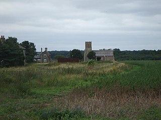 Wangford, West Suffolk Human settlement in England