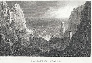 St. Gowan's Chapel: near Pembroke