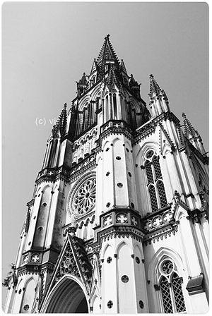 St. Joseph's College, Tiruchirappalli - Image: St. Joseph's College Church, Tiruchirappalli