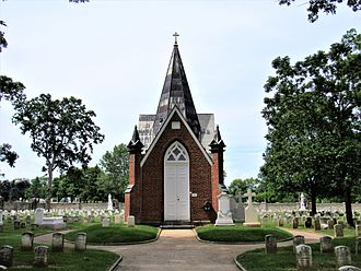 National Shrine of St. Elizabeth Ann Seton - St. Joseph Cemetery