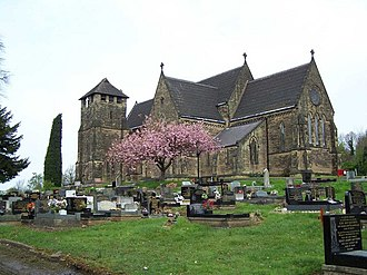 Pensnett - Image: St. Mark's Church, Pensnett geograph.org.uk 786793