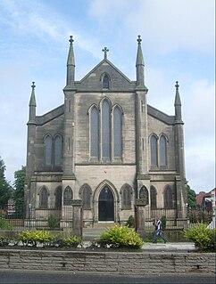 St Anthonys Church, Scotland Road church in Liverpool, UK