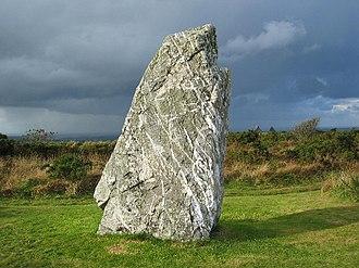 St Breock - St Breock Downs Monolith