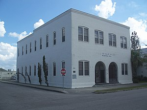 National Register of Historic Places listings in Osceola County, Florida - Image: St Cloud GARM hall 01