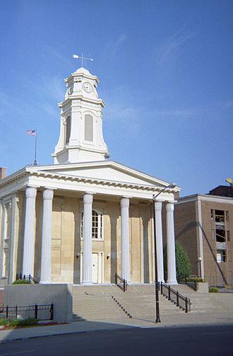 St. Joseph County, Indiana - Image: St Joseph County Indiana Courthouse