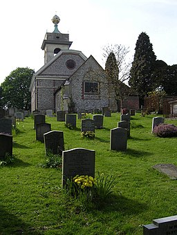 St Lawrence Church West Wycombe - geograph.org.uk - 412225