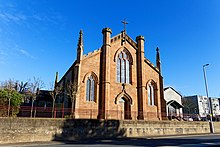 St Margaret's Cathedral, Ayr by Ian Rainey Geograph 6036865.jpg