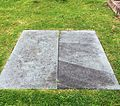St Mary's Church Eccleston, Old Churchyard - grave of Sir Philip and Lady Hay.JPG