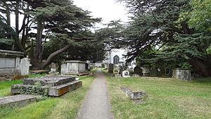 St Mary's Churchyard, Hendon - Churchyard