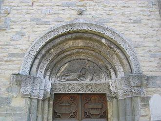 St. Peter's Church, Straubing - The west portal