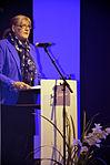 Stadtkulturpreis Hannover 2013 (131) Die stellvertretende Regionspräsidentin Angelika Walter hob in ihrer Rede die Bedeutung des Freundeskreises für die Region Hannover hervor.jpg