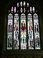 Stained glass window, Church of the Holy Trinity, Torbryan - geograph.org.uk - 947736.jpg