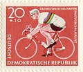 Stamp - GDR 20 Pfennig - Road Cycling World Championships 1960.jpg