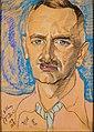 Stanisław Ignacy Witkiewicz - Portret Mieczysława Gajewicza - Google Art Project.jpg