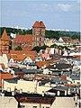 Stare Miasto w Toruniu, widok z wieży ratuszowej (widoczny Kościół św. Jakuba oraz dawny zbór ewangelicki na Rynku Nowomiejskim) (Ola Z.).jpg