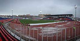 Het Start stadion in Saranks