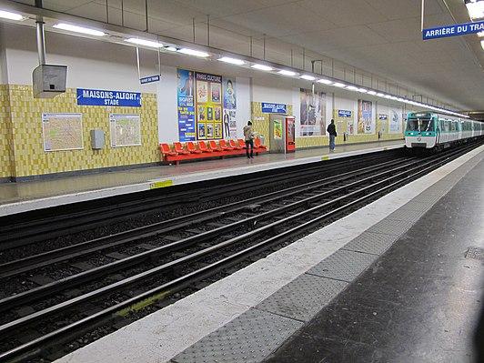 Maisons-Alfort – Stade (Paris Métro)