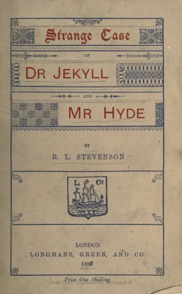 Stevenson - Strange case of Dr. Jekyll and Mr. Hyde (1886).djvu