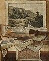 Stilleben mit Büchern, Stichen und Landkarten 1.jpg