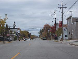 Stockbridge, Wisconsin - Along WIS 55 in downtown Stockbridge